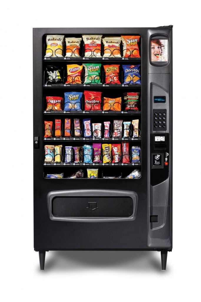 40 Selection Snack Machine