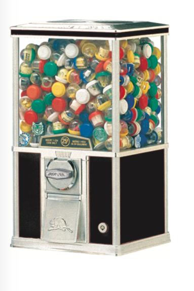 Classic Bulk Candy or Toy Machine